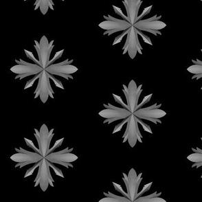 Medieval Iron Crosses Black
