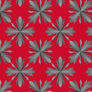 Medieval Iron Crosses V2 Red