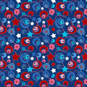bluecirclespatriotic