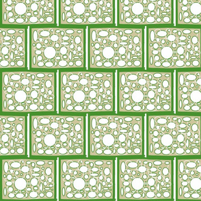 Circles avocado/khaki