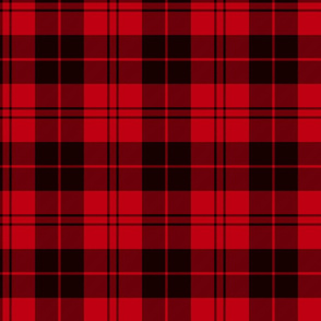 Campbell red / Campbell of Armaddie tartan, 6""