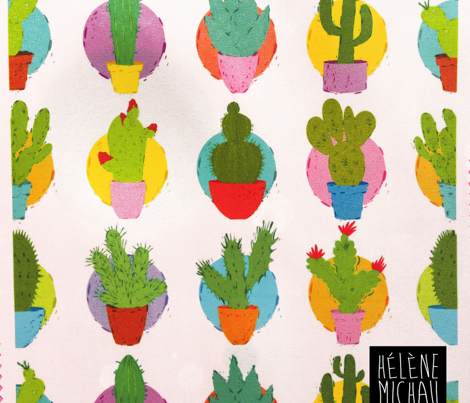 Cactus - Assorted fabric