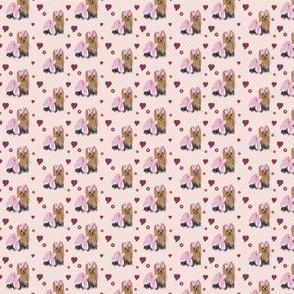"""Savannah Pink Hearts 1 1/2"""""""