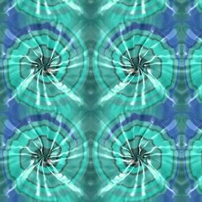 Aqua Tie Dye