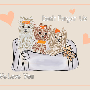 Don't Forget Us - We Love You