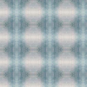 Muted blue/grey mirror