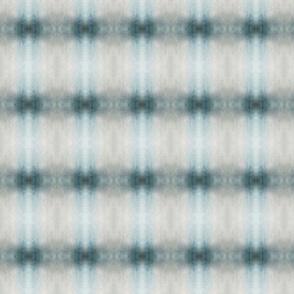 Muted blue/grey plaid