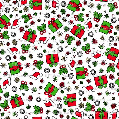 Santa Robot's Presents
