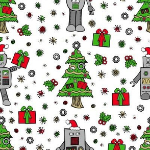 Robots Deck the Halls