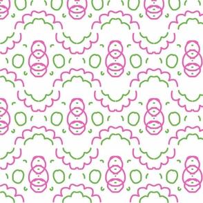 Pink & Green 7