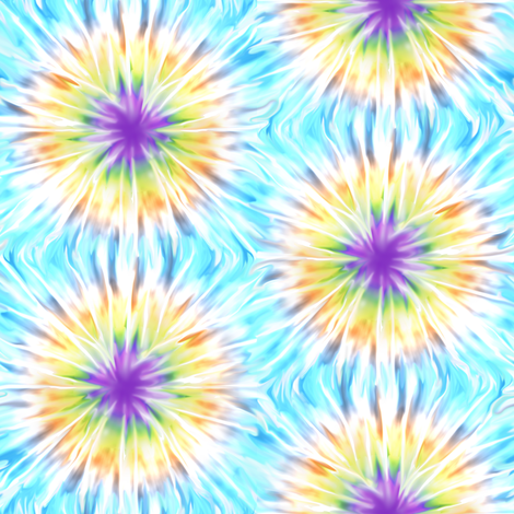 Tie Die 3 fabric by eclectic_house on Spoonflower - custom fabric
