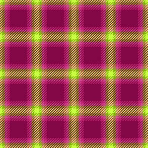 Punky Plaid 171 Pink Green