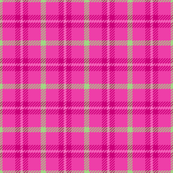 Punky Plaid 176 Pink Green