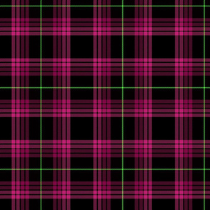 Punky Plaid 217 Pink Green
