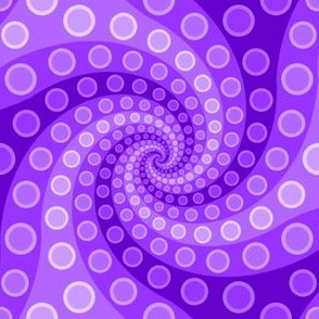 tentacle sucker spiral 3 : violet