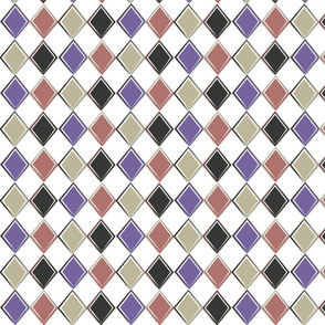 Harlequin Diamond Coordinating Pattern III