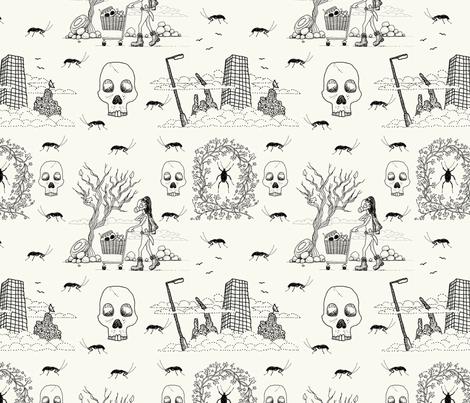 I'm a Survivor (classic 1) fabric by seesawboomerang on Spoonflower - custom fabric