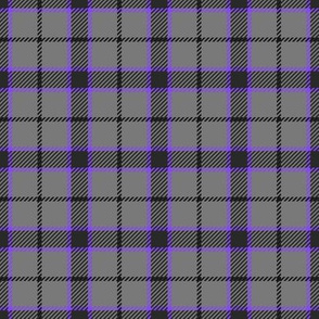Little Girlie Plaid 181 Grey Purple