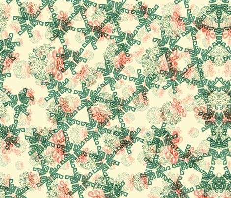 Highland Kaleidoscope fabric by nomes_ on Spoonflower - custom fabric