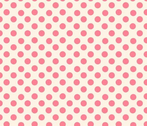 Roses & Vines polka dots-ch-ch fabric by karenharveycox on Spoonflower - custom fabric