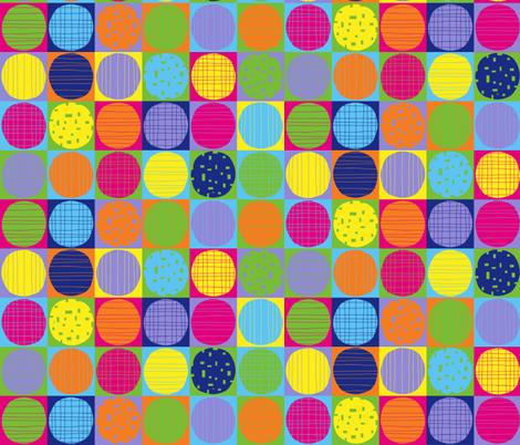 Pop art cookies fabric by greennote on Spoonflower - custom fabric