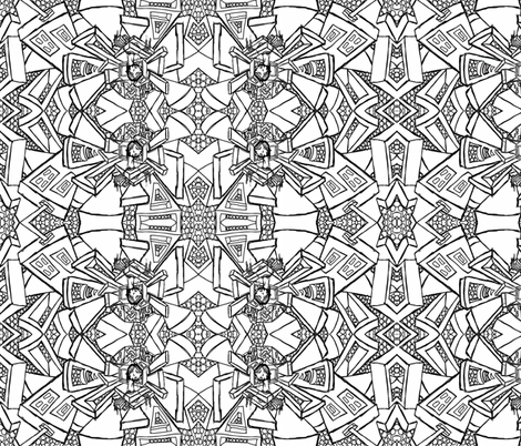 Doors of Imaginations fabric by sashasjourney on Spoonflower - custom fabric