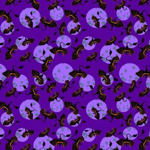 dragon moon purple