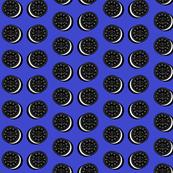 Oreo fabric blue
