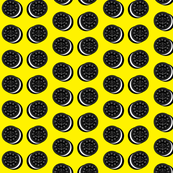 Oreo fabric yellow