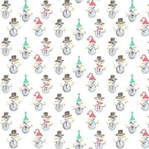 snowmen mini