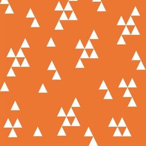 Simple Triangle - Orange by Andrea Lauren