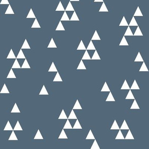 Simple Triangle - Payne's Gray by Andrea Lauren