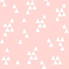Simple Triangle - Rose Pink by Andrea Lauren