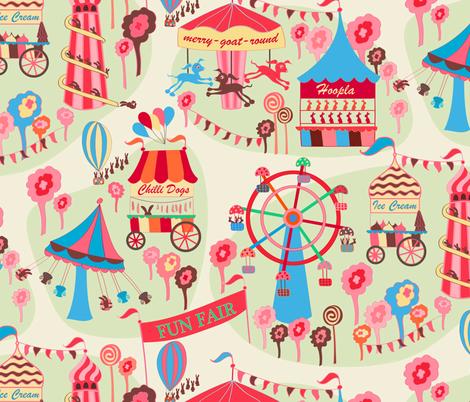 Fun Fair fabric by jill_o_connor on Spoonflower - custom fabric