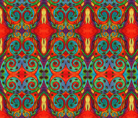Dancewind Twirl fabric by lierre on Spoonflower - custom fabric