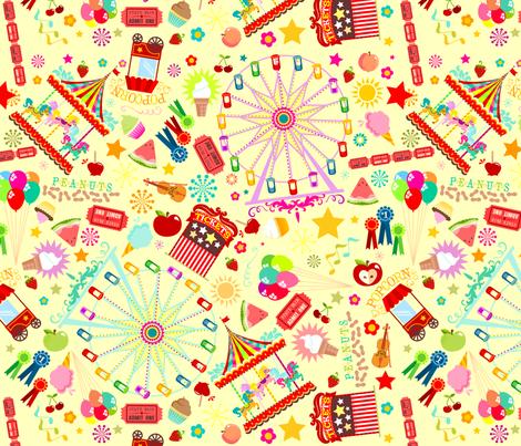 Magical Fairground fabric by creativetaylor on Spoonflower - custom fabric