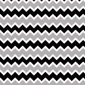 black grey gray chevron zigzag pattern