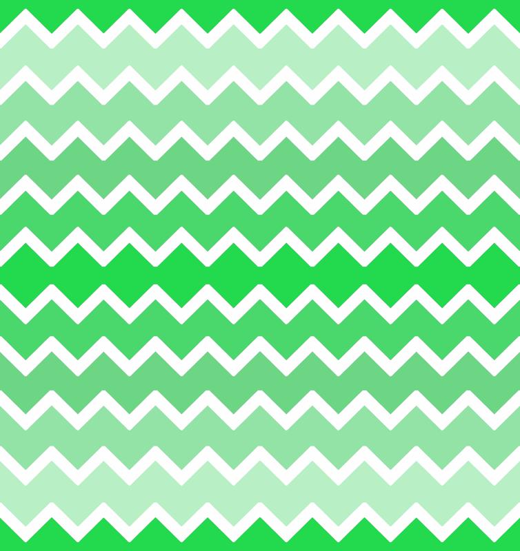 Mint Green Ombre Chevron Zigzag Pattern Wallpaper