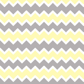yellow grey gray chevron zigzag pattern