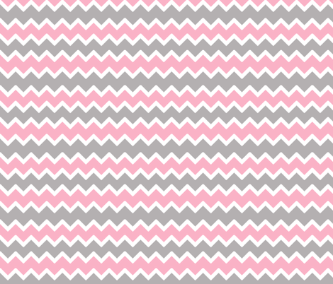 pink grey gray chevron zigzag pattern fabric by decamp_studios on  Spoonflower - custom fabric - Pink Grey Gray Chevron Zigzag Pattern Wallpaper - Decamp_studios