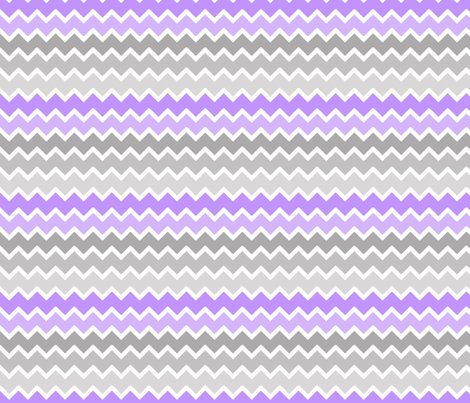 Purple Lavender Lilac Grey Gray Ombre Chevron Zigzag