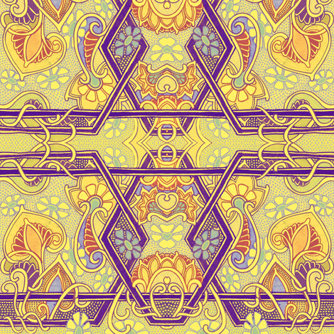 Speakeasy Nights fabric by edsel2084 on Spoonflower - custom fabric