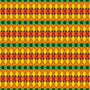 Red yellow green gold design background