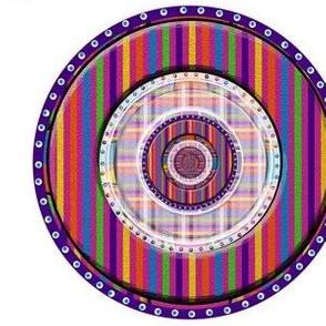 Decorated Rainbow Cookies