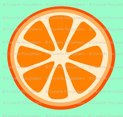 Summer Orange Green
