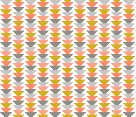 LittleK_Triangles fabric by ivoryandelm on Spoonflower - custom fabric