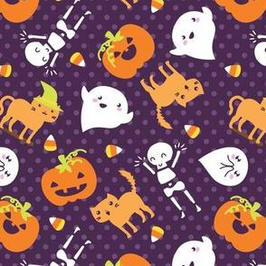 Silly Halloween - Frightful Friends