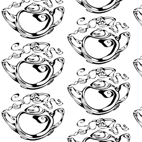 Inkblot Teapot