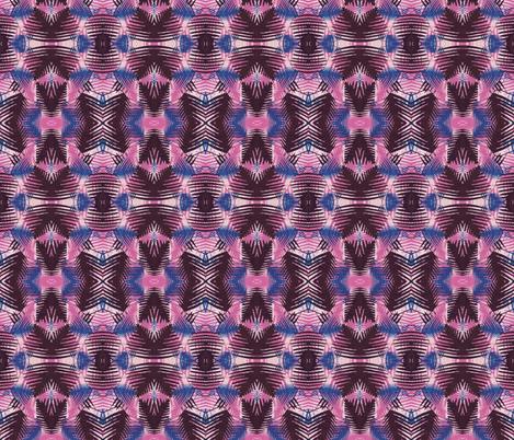 Jungle print MAGENATA fabric by surface1°22 on Spoonflower - custom fabric