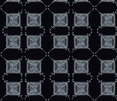 Geometrical Indian fabric by kerrieabello on Spoonflower - custom fabric